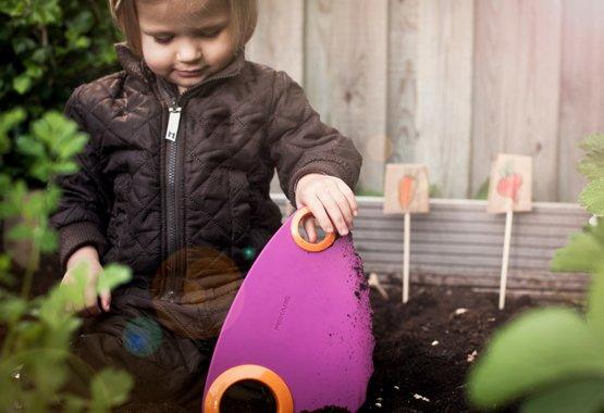 Convierta la jardinería en la hora del recreo