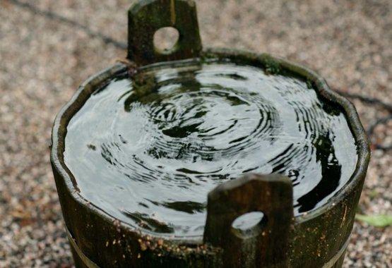 Recoger las aguas pluviales