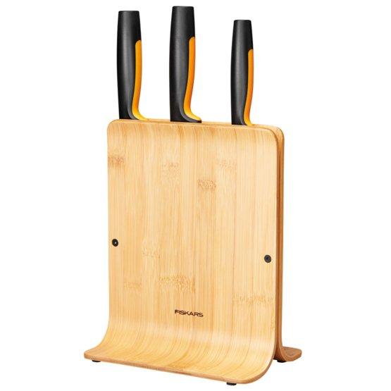 Tacoma de cuchillos Functional Form Bamboo 3 cuchillos