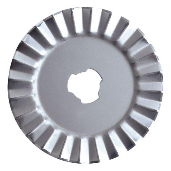 Cuchilla Rotatoria 45mm - Zig zag
