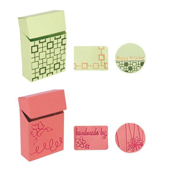 Placas de extensión Grandes - Caja para Caramelos