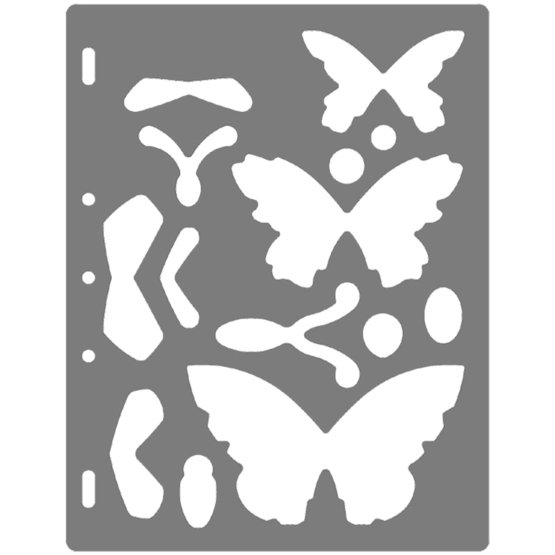 ShapeTemplate - Mariposa