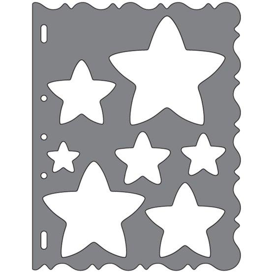 ShapeTemplate - Estrellas