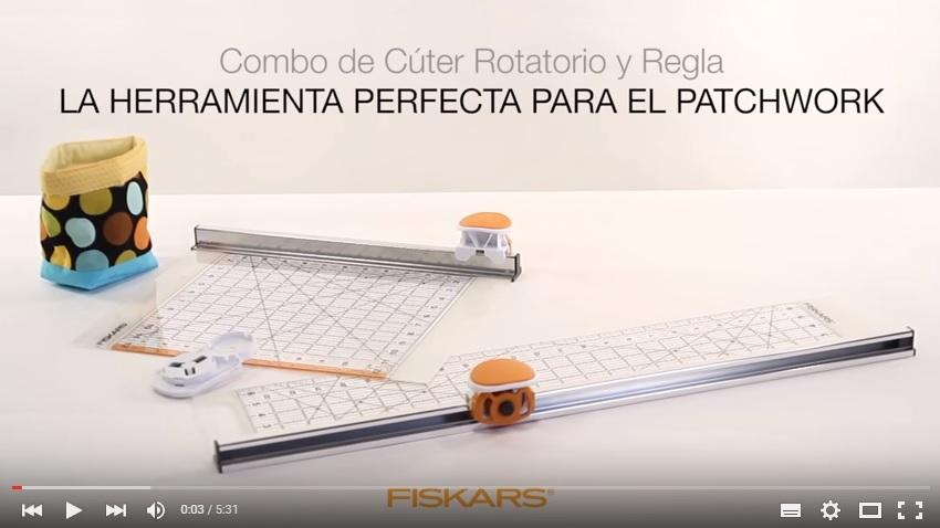 "Regla (6""x24"") con Cútter Rotatorio (Ø45 mm)"