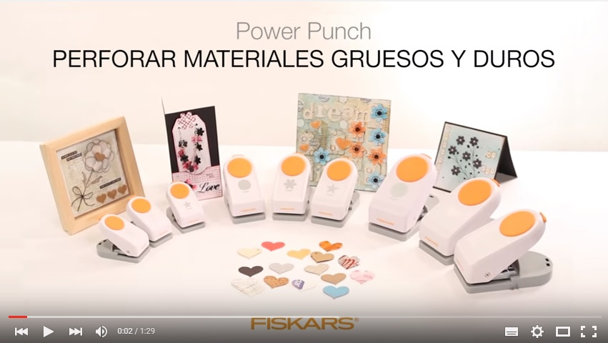 "Power Punch - Flor - 1,5""/3,8cm"