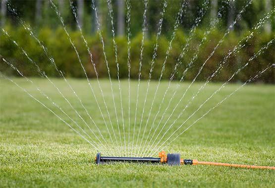 Aspersor ahorro de agua L